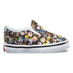 Vans Toddler Classic Slip-On Peanuts TheGang/Black